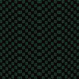 Contrôle sans couture antique Dot Wave Frame de la géométrie de fond illustration libre de droits