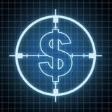 Contrôle sur la dépense et l'épargne illustration de vecteur