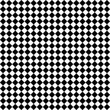Contrôles noirs et blancs de diamant illustration de vecteur