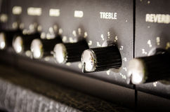 Contrôleur d'amplificateur Image libre de droits