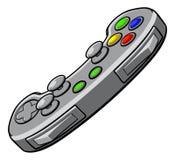 Contrôleur de console de jeux vidéo illustration libre de droits