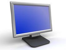 Contrôlez l'écran plat Image libre de droits