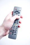 contrôlez la TV lointaine Photo libre de droits
