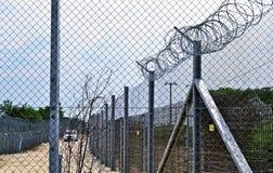 Contrôle aux frontières de la Hongrie Photo stock