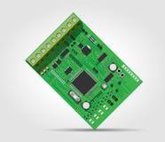 Contrôle d'accès - circuit intégré Photo libre de droits