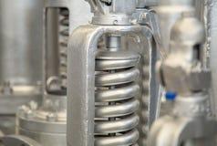 Contrôle d'industrie de valve photo libre de droits