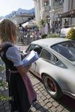 Contrôle de Porsche 911 Carrera RS 2-7_time Images libres de droits