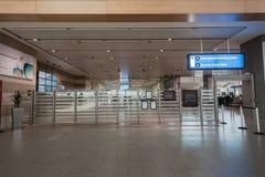 Contrôle de rayon X de sécurité dans les aéroports Photos libres de droits