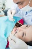 Contrôle dentaire Image stock