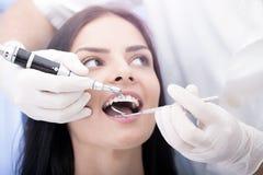 Contrôle dentaire Image libre de droits