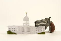 Contrôle des armes Legistlation Photo libre de droits