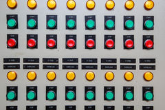 Contrôle marche-arrêt de bouton Image stock
