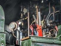 Contrôles de train de vapeur photos libres de droits