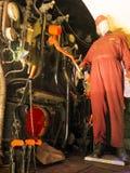 Contrôles de train de vapeur Photo libre de droits