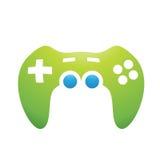 Contrôleur de jeu d'accessoires de PC Images libres de droits