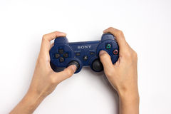 Contrôleur de Sony Playstation Photographie stock libre de droits