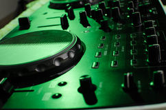 Contrôleur du DJ Photo stock