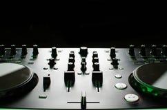 Contrôleur du DJ Photos stock