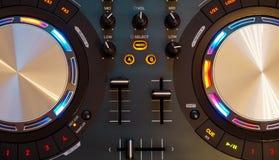Contrôleur du DJ Photographie stock