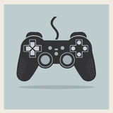 Contrôleur Joystick Vector de jeu vidéo d'ordinateur Photographie stock libre de droits
