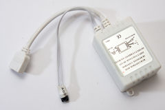 Contrôleur pour des bandes de RVB LED Images stock