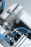 Contrôleurs de machine mécanique image stock