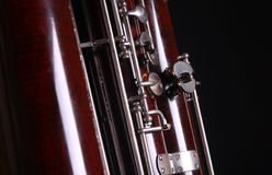Contra bassoon love orchestra classical Stock Image