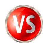 Contra el botón aislado ilustración del vector
