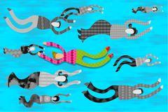 Contra el flujo libre illustration