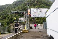 Contra a represa, Suíça Imagens de Stock