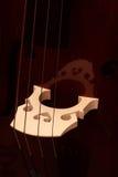 contrabass τεμάχιο Στοκ εικόνα με δικαίωμα ελεύθερης χρήσης