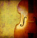 Contrabass background Royalty Free Stock Image