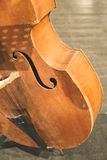 Contrabass on classical concert Stock Images