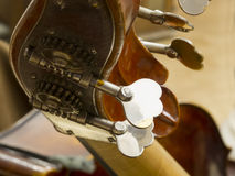 Contrabass closeup Royalty Free Stock Photos