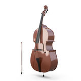 Contrabass, double bass Royalty Free Stock Images