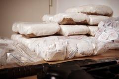 Contrabbando afferrato Fotografie Stock Libere da Diritti