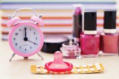 Contraceptie Stock Foto