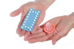 Contraceptie Stock Foto's