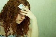 Contraceptief meisje Stock Afbeeldingen