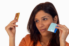 Contraception Royalty Free Stock Photography