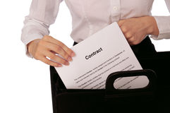 Contract Stock Images