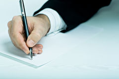 Contract Royalty Free Stock Images