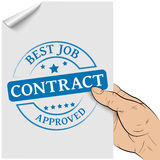 Contract concept Royalty Free Stock Photo