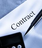 Contract conception Stock Images