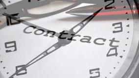 Contract deadline Stock Photos