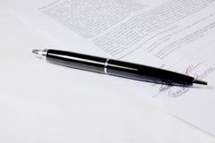 Contract en Pen Stock Fotografie