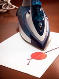 Contract ironing Stock Photography