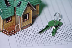 Contract Key House Stock Photography