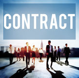 Contract Legal Occupation Partnership Deal Concept Royalty Free Stock Photos