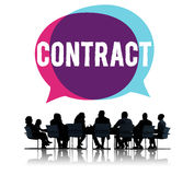 Contract Legal Occupation Partnership Deal Concept Royalty Free Stock Image